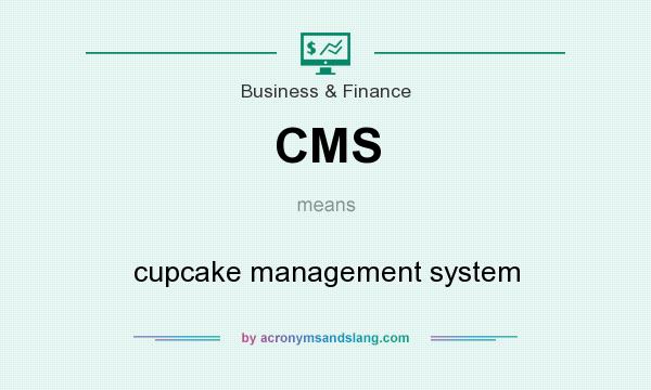 What does CMS mean? It stands for cupcake management system