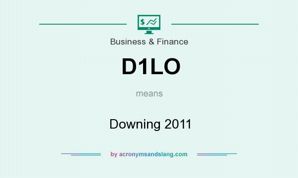 What does D1LO mean? It stands for Downing 2011