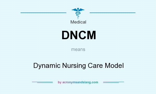 What does DNCM mean? It stands for Dynamic Nursing Care Model