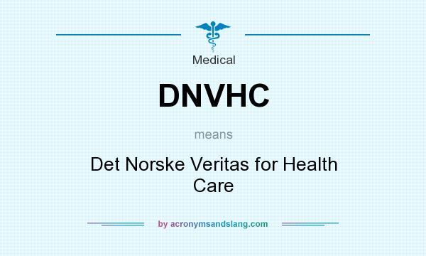 What does DNVHC mean? - Definition of DNVHC - DNVHC stands