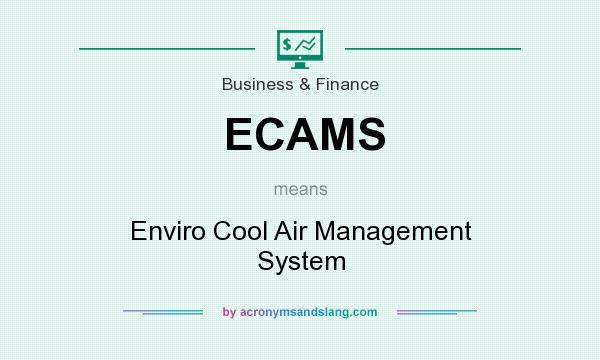 What does ECAMS mean? It stands for Enviro Cool Air Management System