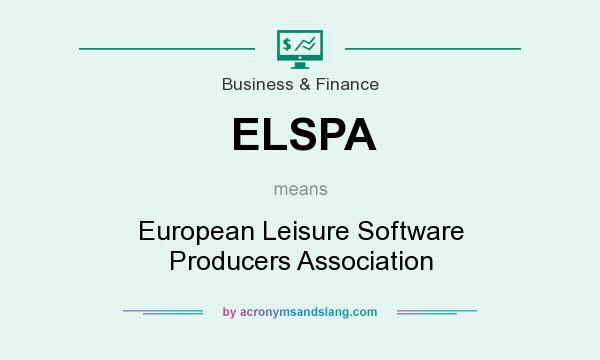 What does ELSPA mean? It stands for European Leisure Software Producers Association