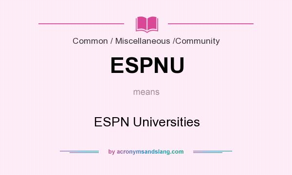 what does epsn stand for