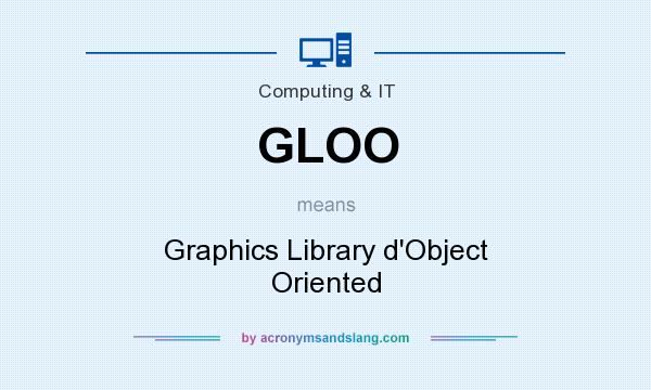 What does GLOO mean? It stands for Graphics Library d`Object Oriented