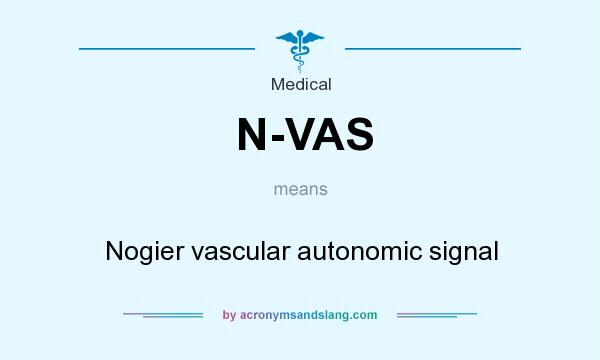 What does N-VAS mean? It stands for Nogier vascular autonomic signal