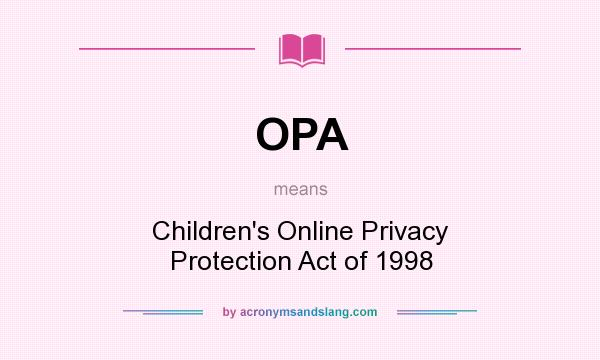 children's online privacy protection act of In this privacy tracker series, we look at laws from across the globe and match them up against the eu general data protection regulation the aim is to help.