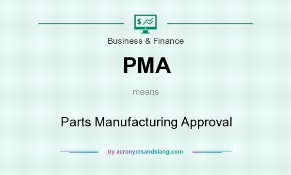 What does PMA mean? It stands for Parts Manufacturing Approval