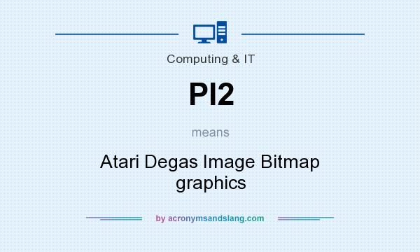 What does PI2 mean? It stands for Atari Degas Image Bitmap graphics