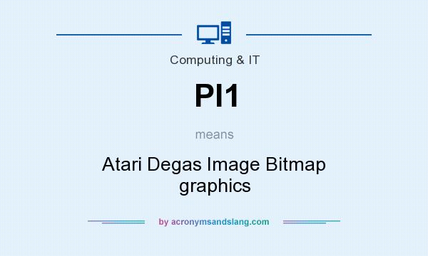 What does PI1 mean? It stands for Atari Degas Image Bitmap graphics