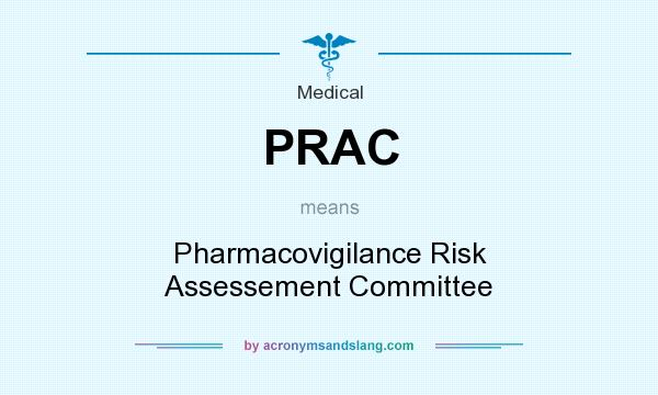 What does PRAC mean? It stands for Pharmacovigilance Risk Assessement Committee