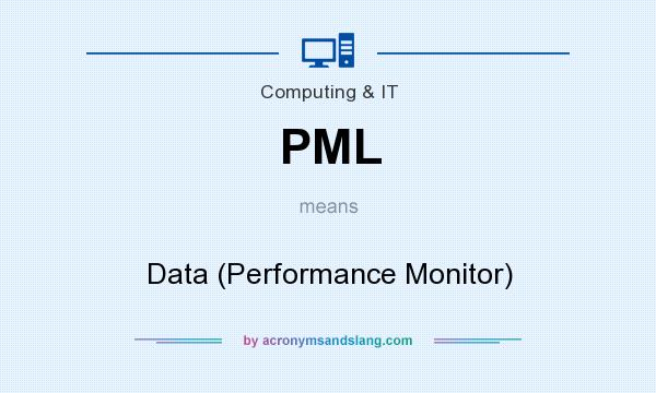 What does PML mean? It stands for Data (Performance Monitor)