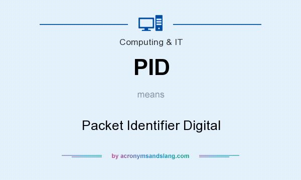 What does PID mean? It stands for Packet Identifier Digital