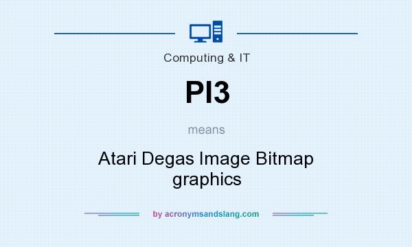 What does PI3 mean? It stands for Atari Degas Image Bitmap graphics