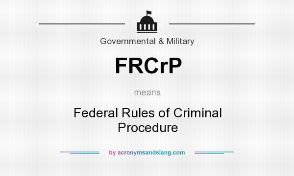 What are some criminal procedures?