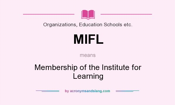 Meaning of mifl