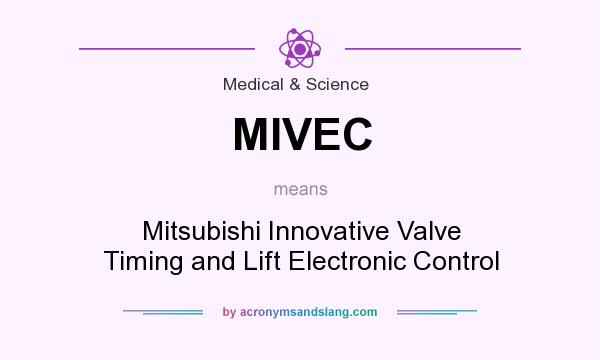 mivec - mitsubishi innovative valve timing and lift electronic
