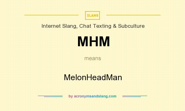 What does mhm mean in a text message