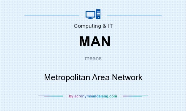 What does MAN mean? It stands for Metropolitan Area Network