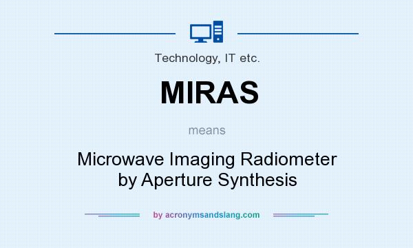 What does MIRAS mean? It stands for Microwave Imaging Radiometer by Aperture Synthesis