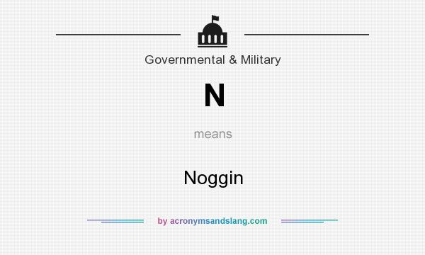 What does N mean? It stands for Noggin