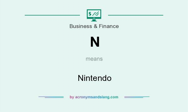 What does N mean? It stands for Nintendo