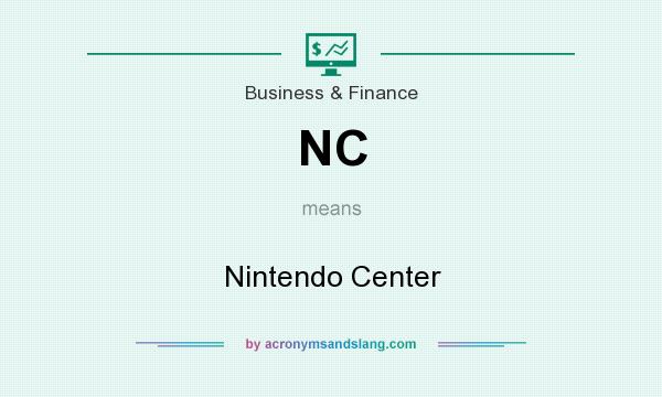 What does NC mean? It stands for Nintendo Center
