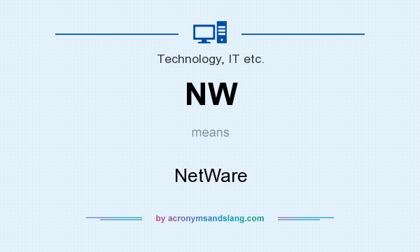 What does NW mean? It stands for NetWare