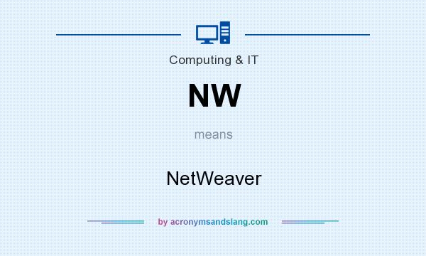 What does NW mean? It stands for NetWeaver