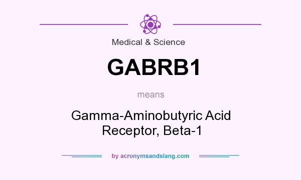 What does GABRB1 mean? It stands for Gamma-Aminobutyric Acid Receptor, Beta-1