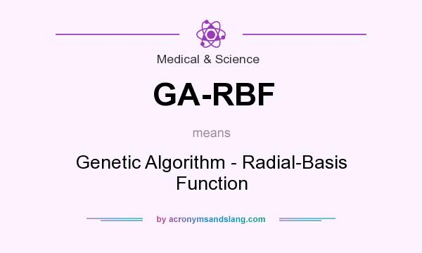 What does GA-RBF mean? It stands for Genetic Algorithm - Radial-Basis Function