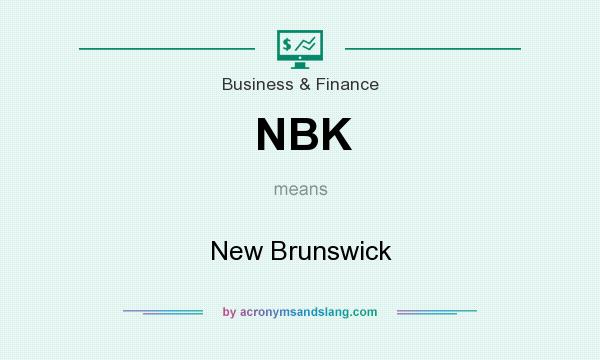 What does NBK mean? It stands for New Brunswick