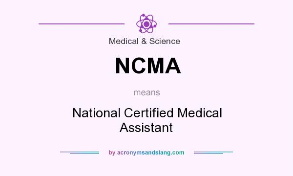 NCMA - National Certified Medical Assistant in Medical & Science by ...