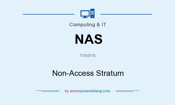 What does NAS mean? It stands for Non-Access Stratum