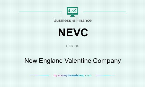 What does NEVC mean? It stands for New England Valentine Company