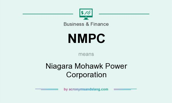 What does NMPC mean? It stands for Niagara Mohawk Power Corporation