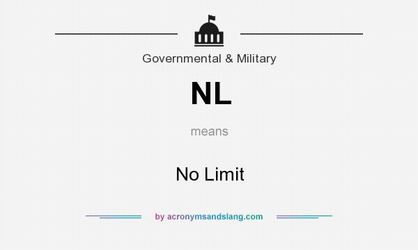 What does NL mean? It stands for No Limit