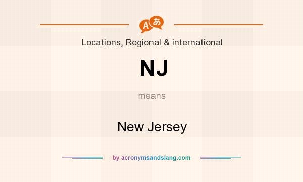 What does NJ mean? It stands for New Jersey