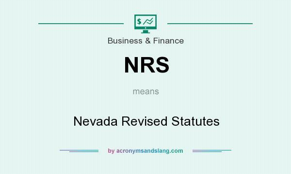 Nevada Revised Statutes >> Nrs Nevada Revised Statutes In Locations Regional International