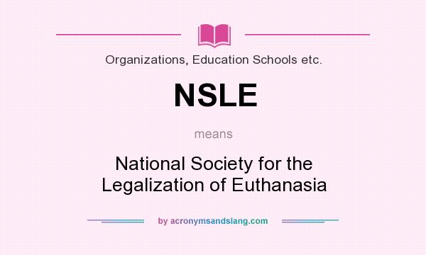 legalization of euthanasia