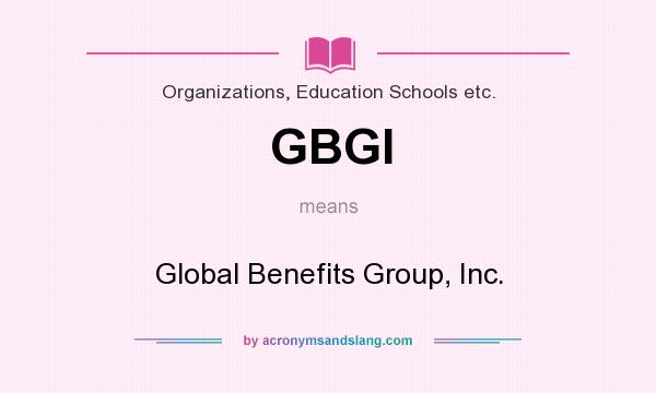 Group benefits agency inc