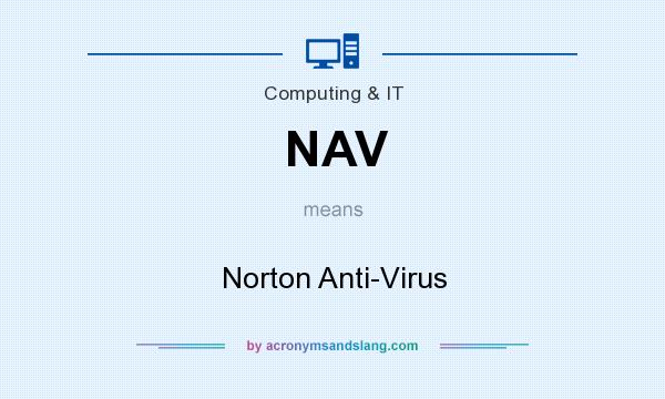What does NAV mean? It stands for Norton Anti-Virus