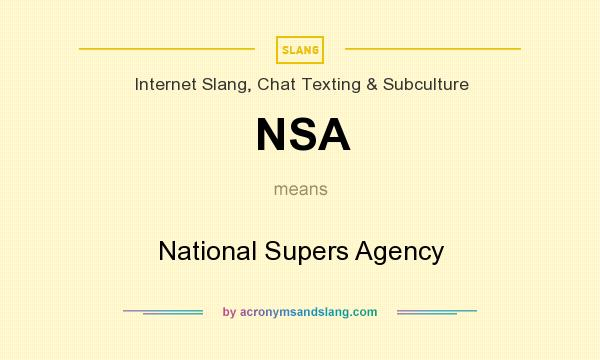 Nsa abbreviation meaning