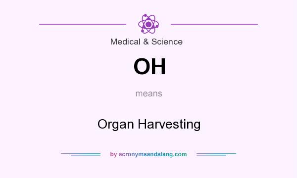 What does OH mean? It stands for Organ Harvesting