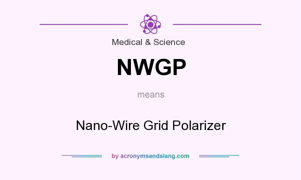What does NWGP mean? It stands for Nano-Wire Grid Polarizer