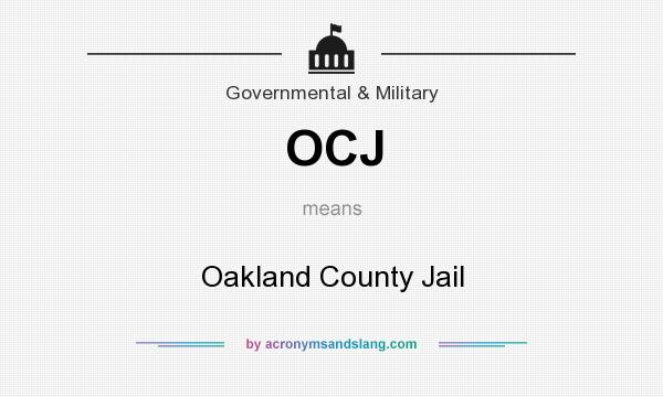 OCJ - Oakland County Jail in Government & Military by
