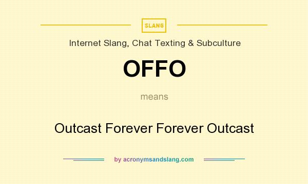 slang outcast Definition of outcast written for english language learners from the merriam-webster learner's dictionary with audio pronunciations, usage examples, and.
