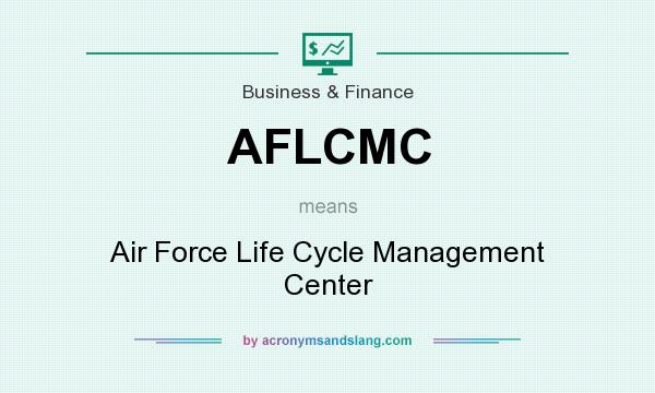 What does AFLCMC mean? It stands for Air Force Life Cycle Management Center