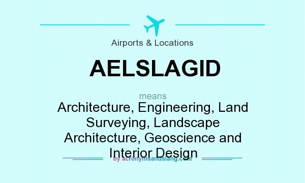 What does aelslagid mean definition of aelslagid for What does architecture mean