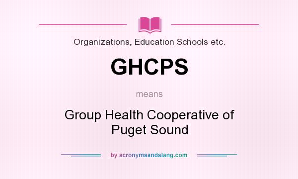 Group health of puget sound