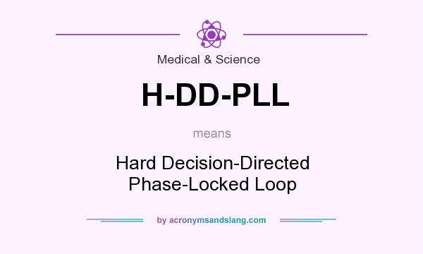 What does H-DD-PLL mean? It stands for Hard Decision-Directed Phase-Locked Loop